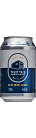 Best Coast Lager Beer 3 x 330ml cans