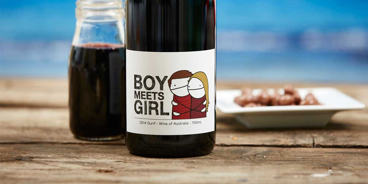 Boy Meets Girl Durif 2014  Naked Wines-4836