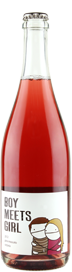 Boy Meets Girl Sparkling Pink Moscato 2013